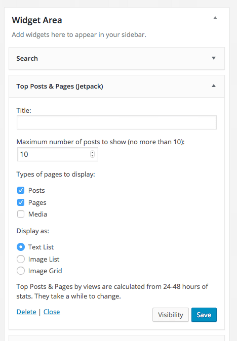 WordPress Popular Posts  WordPress Plugins