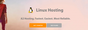 A web host that offers Linux hosting solutions.