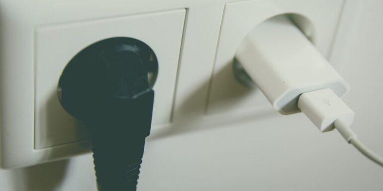 Plugs in sockets
