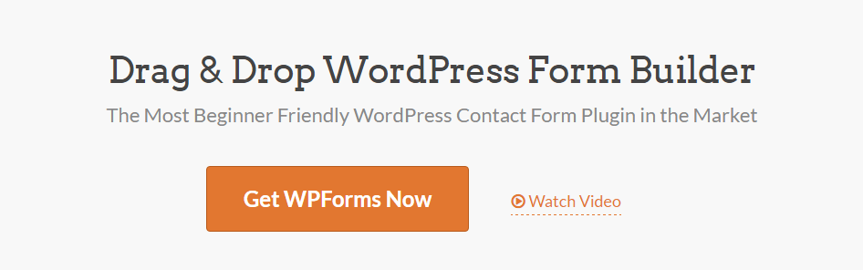 WordPres Form Builder