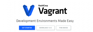 The Vagrant homepage.