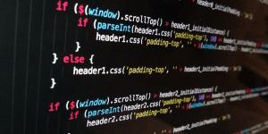 A screen full of code.