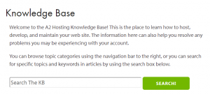 A knowledgebase can help your visitors by centralizing all the documentation they might need.