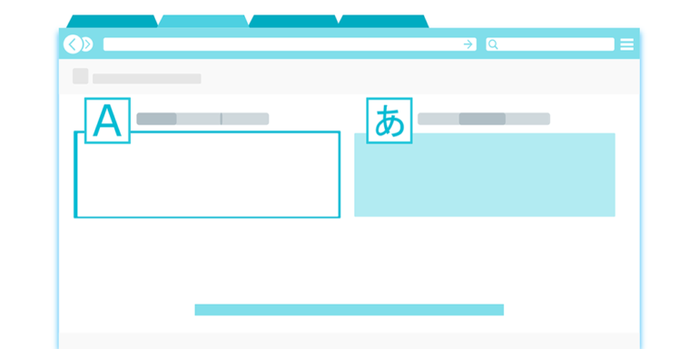 A depiction of an online translation service.