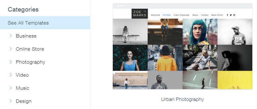 Multiple website layouts.