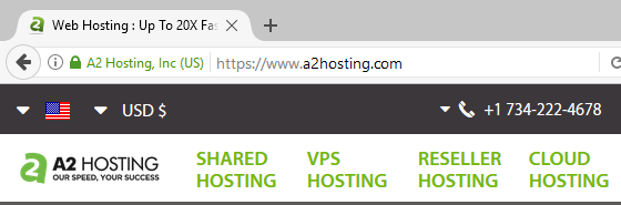 An example of a short domain name.