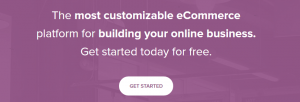 The WooCommerce homepage.