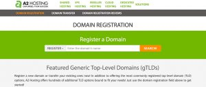 A2 Hosting Domain Registration