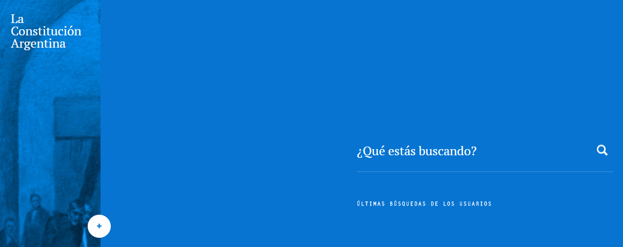 The Argentinian's constitution website.