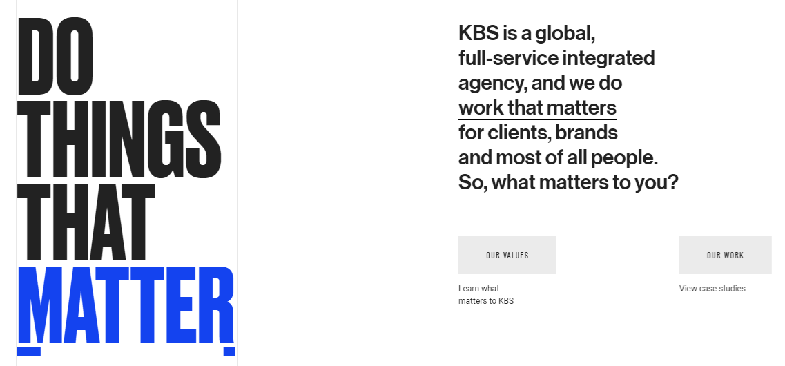 The KBS Canada website.