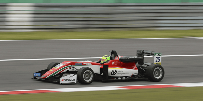 A Formula One car.