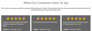 Client testimonials help you prove your trustworthiness to new visitors.