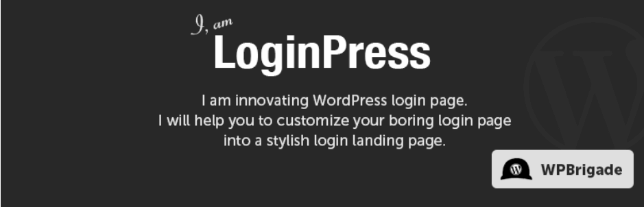 The LoginPress plugin.