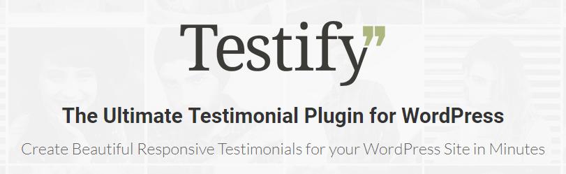 The Testify plugin.