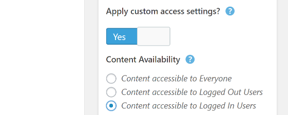 Restricting access to a page.