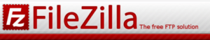 The FileZilla homepage.