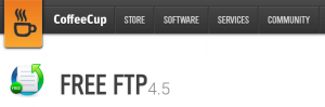 The Free FTP homepage.