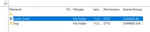 Your WordPress root folder.
