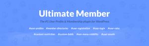 The Ultimate Member plugin.