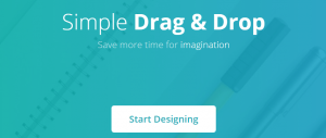 The DesignBold homepage.