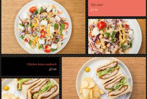 An example of a visual menu.
