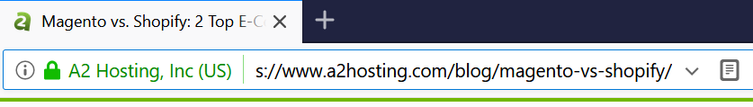 An example of an URL.