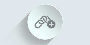 A symbol representing a link.