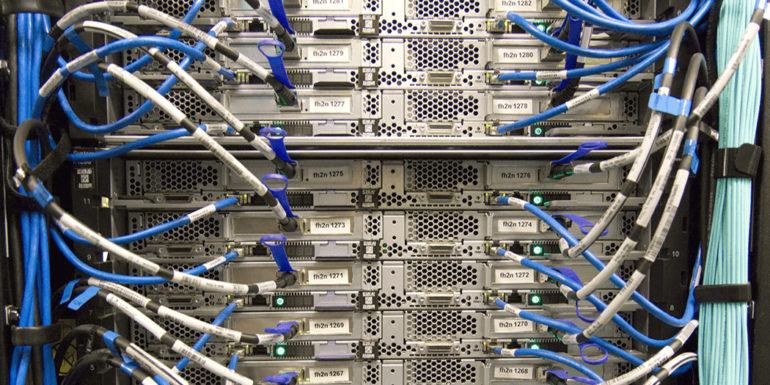 An image of a server.
