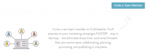 Inviting new members to your team.