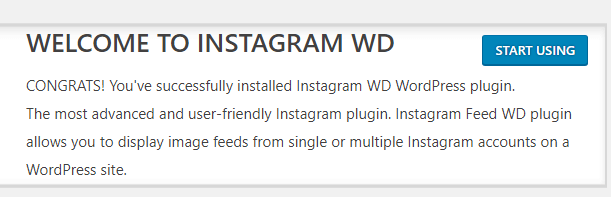 Start using the Instagram Feed WD plugin.
