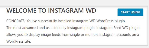 Start using the Instagram Feed WD plugin.