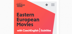 The Easter European Movies homepage.