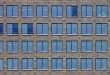 Multiple rows of windows.