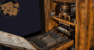 The Gutenberg printing press.