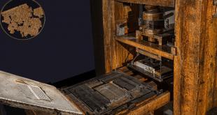 The Gutenberg printing press.