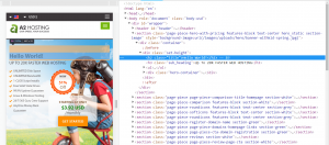 A revised title in Chrome DevTools.