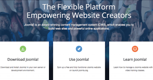 The Joomla! website.