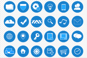 Icons saved in a transparent PNG format.