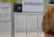 A physical job board.