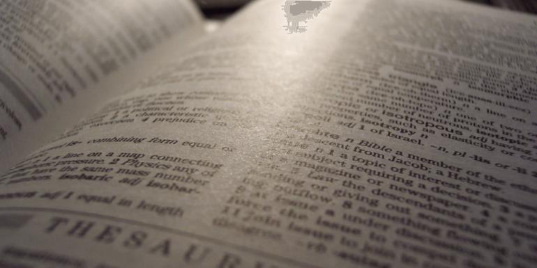 An open thesaurus.