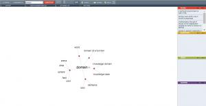 An online visual thesaurus tool.