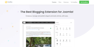 The EasyBlog extension.