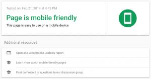 Google's Mobile-Friendly Test.