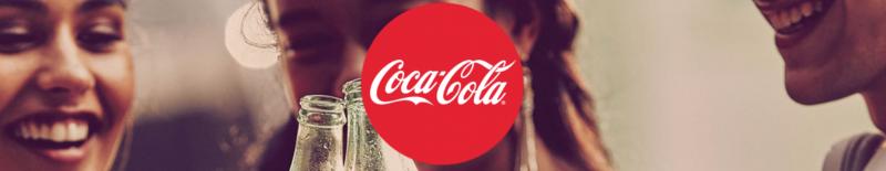 The Coca-Cola logo.
