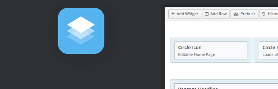The Page Builder by SiteOrigin plugin.