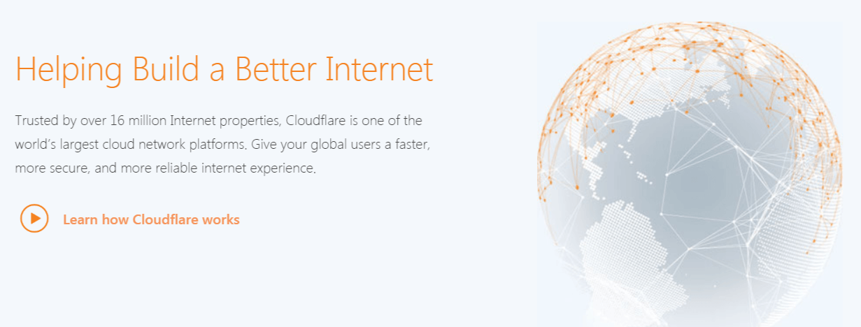 The Cloudflare CDN service.