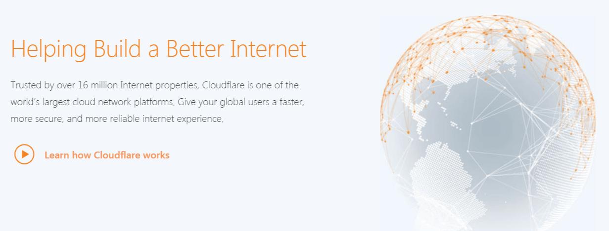 The Cloudflare CDN service.