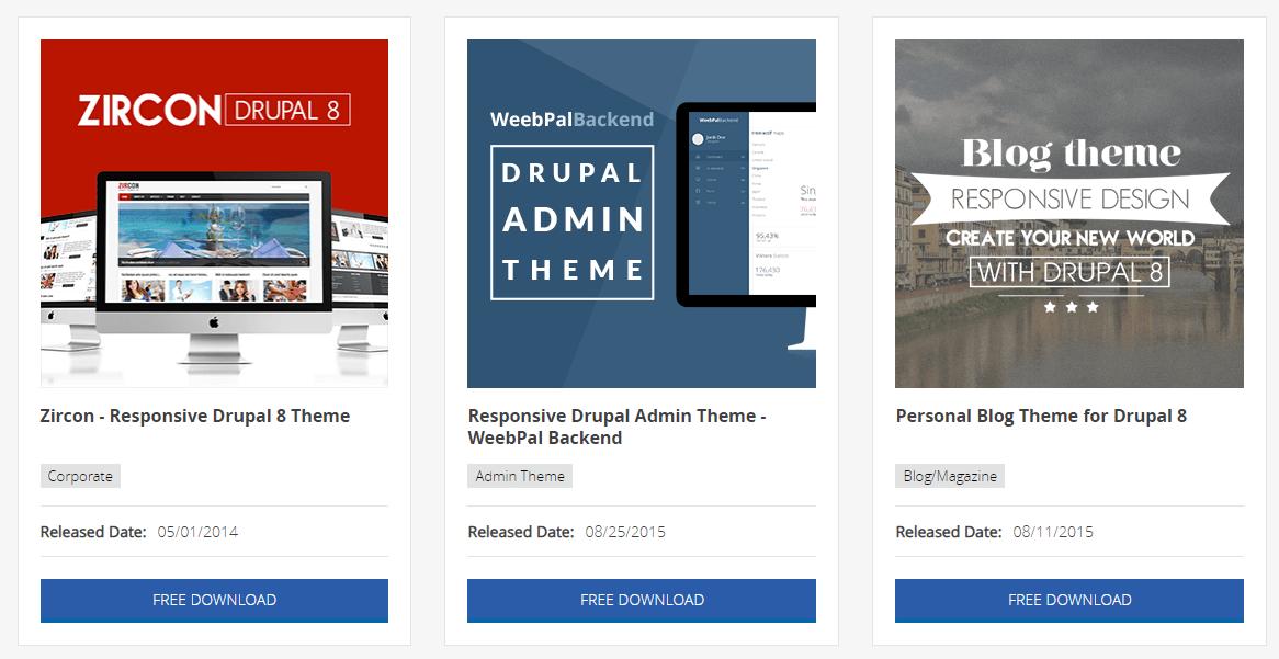 Free themes on WeebPal.