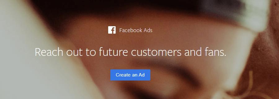 The Facebook Ads website.