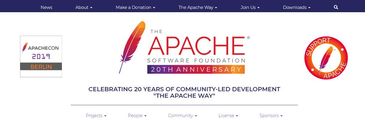 The Apache website.